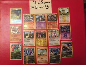 Cartes Pokémon Cards ... et beaucoup de 100 hp et plus.