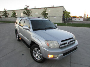 ☆ 2003 TOYOTA 4RUNNER LIMITED ☆ *LEATHER,SUNROOF,FULLY LOADED!!*