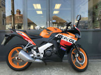 Honda CBR125R Repsol Racing Colours / Nationwide Delivery / Finance