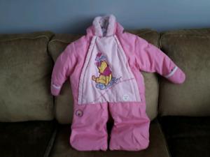 Manteau hiver bébé fille