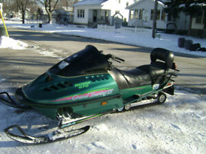 96 SKIDOO 670 Grand Touring SE For Sale 1996