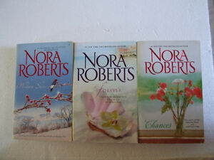 Lot f 3 Nora Roberts Paperback Romance Novels Like New London Ontario image 1