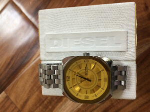 Men's Diesel watch with box