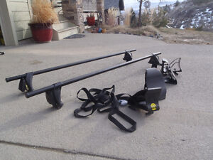 Yakima roof racks and Landshark kayak holder