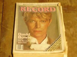 David Bowie - Record Magazine