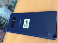 Blue Samsung Note 8 Unlocked to Any Carrier
