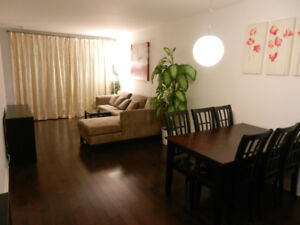 Luxury 3 1/2  Condo with full furniture, air-conditione, parking
