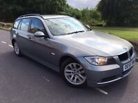 2006 New Shape Bmw 320d se touring estate # 6 speed # parking sensors # s/history # cheap ins model