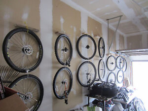 Lots and Lots of Bike parts and wheels for sale. Lots and lots!