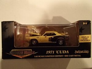 American Muscle ERTL Collectables 1971 HEMI Cuda