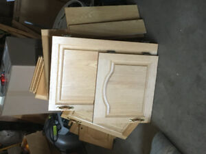 Oak cupboard doors
