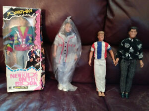 New Kids On The Block NKOTB Figures circa 1990 Collectibles