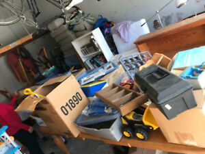 Garage Sale this coming Saturday April 28th. From 8am to 12 noon