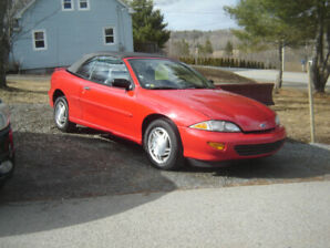 1995 CHEV CAVALIER CONVERTABLE   SOLD
