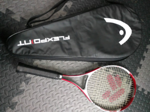 Tennis Racket with Cover Bag