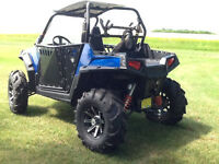 Rzr S priced to Go! 5000 in extras+.
