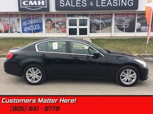 2012 INFINITI G37 Base   AWD, MEMORY SEATS, BOSE, BACKUP CAM!