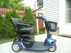 New never used. Pride Victory Twin mobility scooter