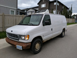 2001 Ford E-150 Refrigerated Van $4500 obo