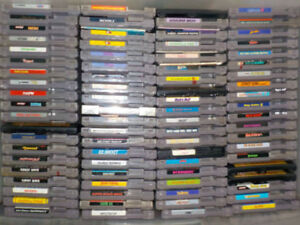 NES with controllers & 14 games