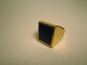 14k Gold Men's Ring