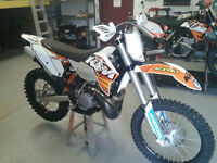 2011 KTM XC-W 250 ONLY 30 HOURS!! MUST GO!