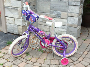 "Gently used 14"" Fairy Kingdom bike"