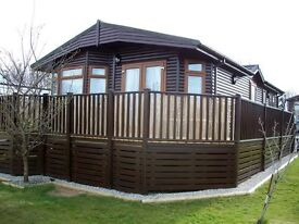 FOR SALE: WOODEN LODGE 20' X 36' SITUATED ON THE DEVON/CORNWALL BORDER IN THE TAMAR VALLEY
