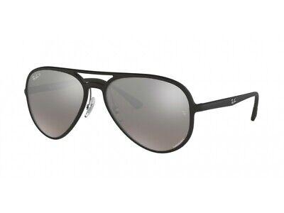 Sonnenbrille Ray Ban RB4320CH Schwarz Blau Verspiegelt Polarized 601S5J