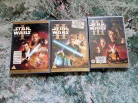 Star wars DVD bundle