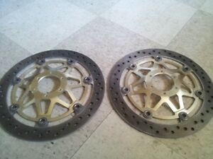 New Used Rotors 1998 CBR900 Fire Blade RR -OEM From Honda Belleville Belleville Area image 2
