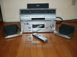 Sony Home Theater System  with VCR/DVD Combo