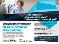 Are you a French-speaking internationally educated professional?