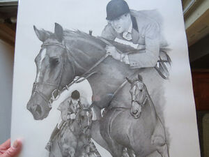"EQUESTRIAN: TITLED ""THE GREAT CANADIAN "" IAN MILLER & BIG BEN. Kitchener / Waterloo Kitchener Area image 7"