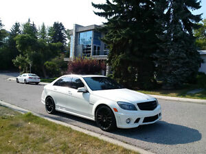 2011 Mercedes-Benz C63 AMG p31,perf pack,sparerims,car cover ***