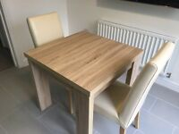 Next Corsica dining table square to rectangle £120