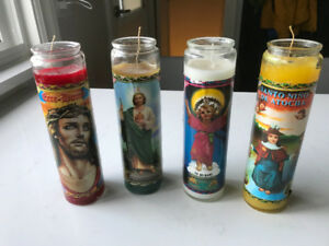 GO MEXICO!!!! MEXICAN WORLD CUP RELIGIOUS CANDLES