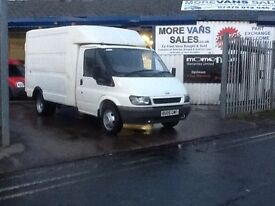 1 owner ex BT 2006 ex BT ford transit Luton box style van 2.4 tddi 88k fsh