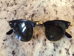 Ray Ban Clubmaster foldable  men's sunglasses