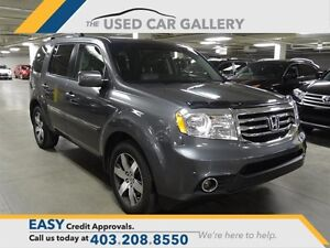 2012 Honda Pilot Touring 4WD DVD Everyone Approved