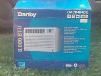 8,00BTU Danby Air Conditioner.