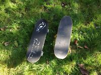 Two Small Skateboards