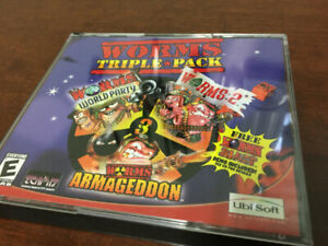 Worms Triple Pack (PC, 2002) Game