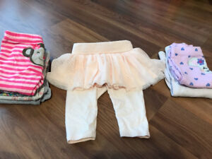 Baby Girl Clothing (3-12 months), Towels, Receiving Blankets Etc