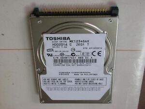 Toshiba MK1234GAX 120GB Internal laptop hard drive