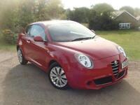 Alfa Romeo MiTo 1.4 16v 78bhp 2010MY Junior, 1 OWNER. F.S.H. 2 X KEYS