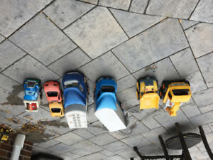 Little Tykes toy trucks and cars