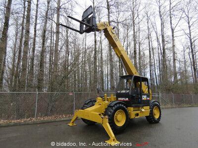 2001 Caterpillar Th103 44 10k Telescopic Reach Forklift Telehandler - Repair