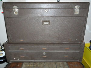 Kennedy Machinists Chest Tool Box (3) Tools also