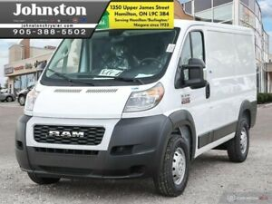 """2019 Ram ProMaster 1500 Low Roof 118"""" WB Cargo"""